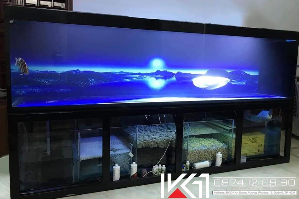 Hồ cá công nghệ 4 lớp giá rẻ tại HCM